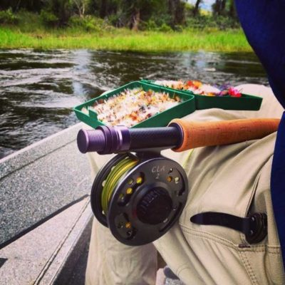 Float Trip Rod and Fly Box